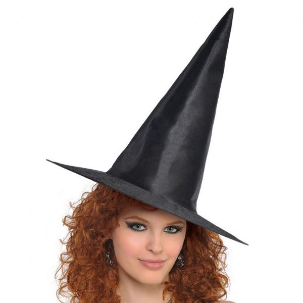 Adults Classic Witches Hat Ladies Halloween Fancy Dress Outfit Accessory